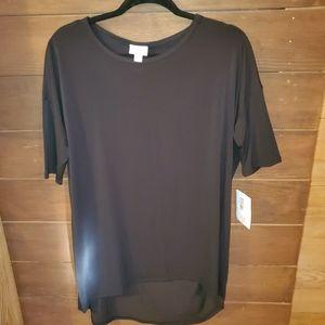 Lularoe Black Irma Tunic M- Brand new